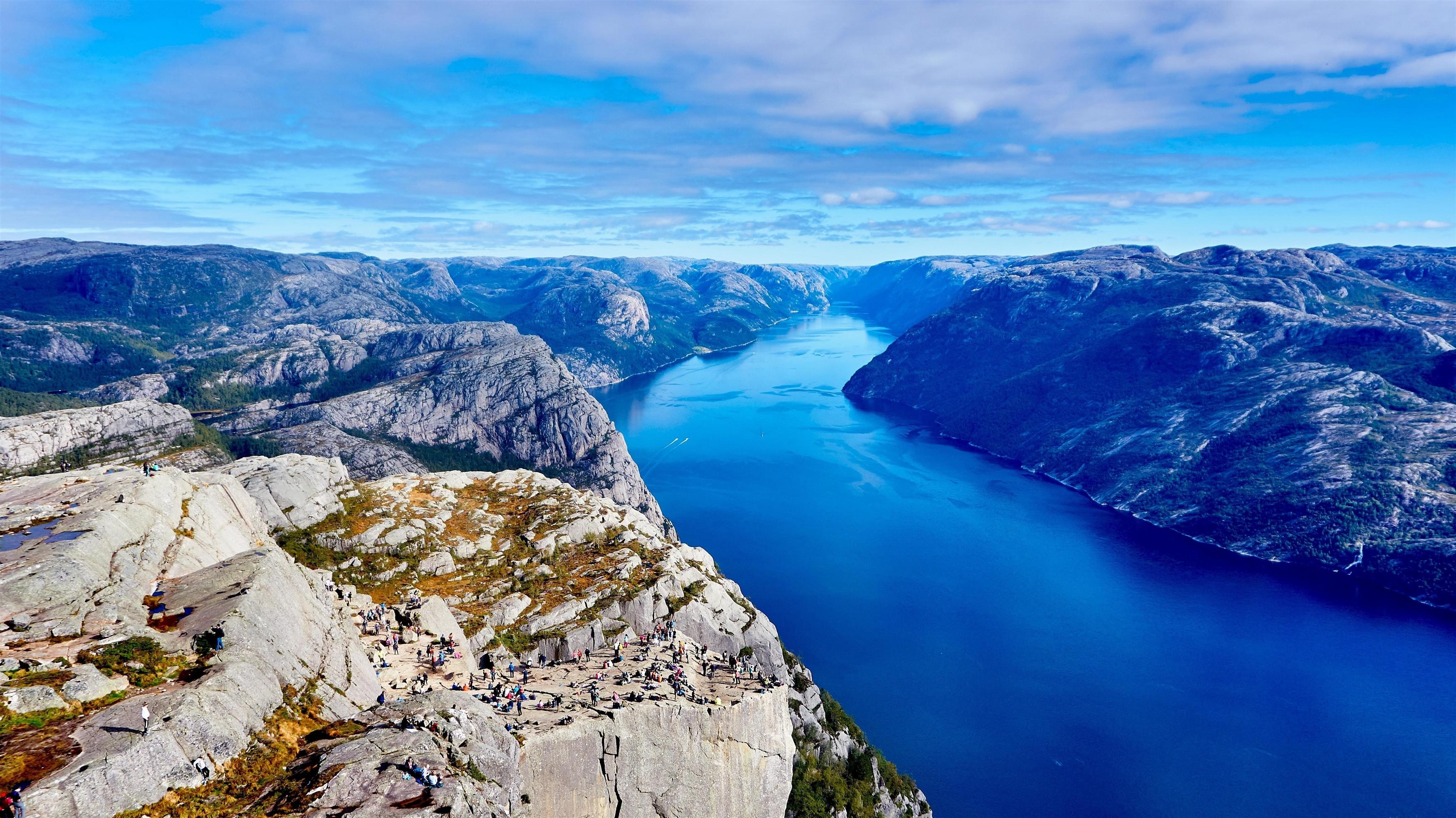 Речные и горные пейзажи обои скачать