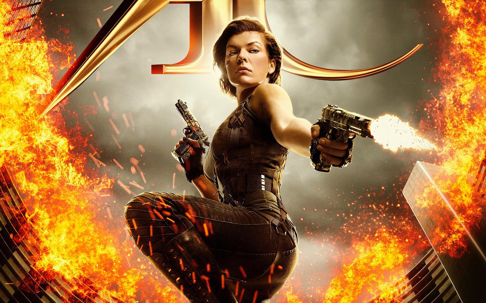Resident Evil The Final Chapter обои скачать