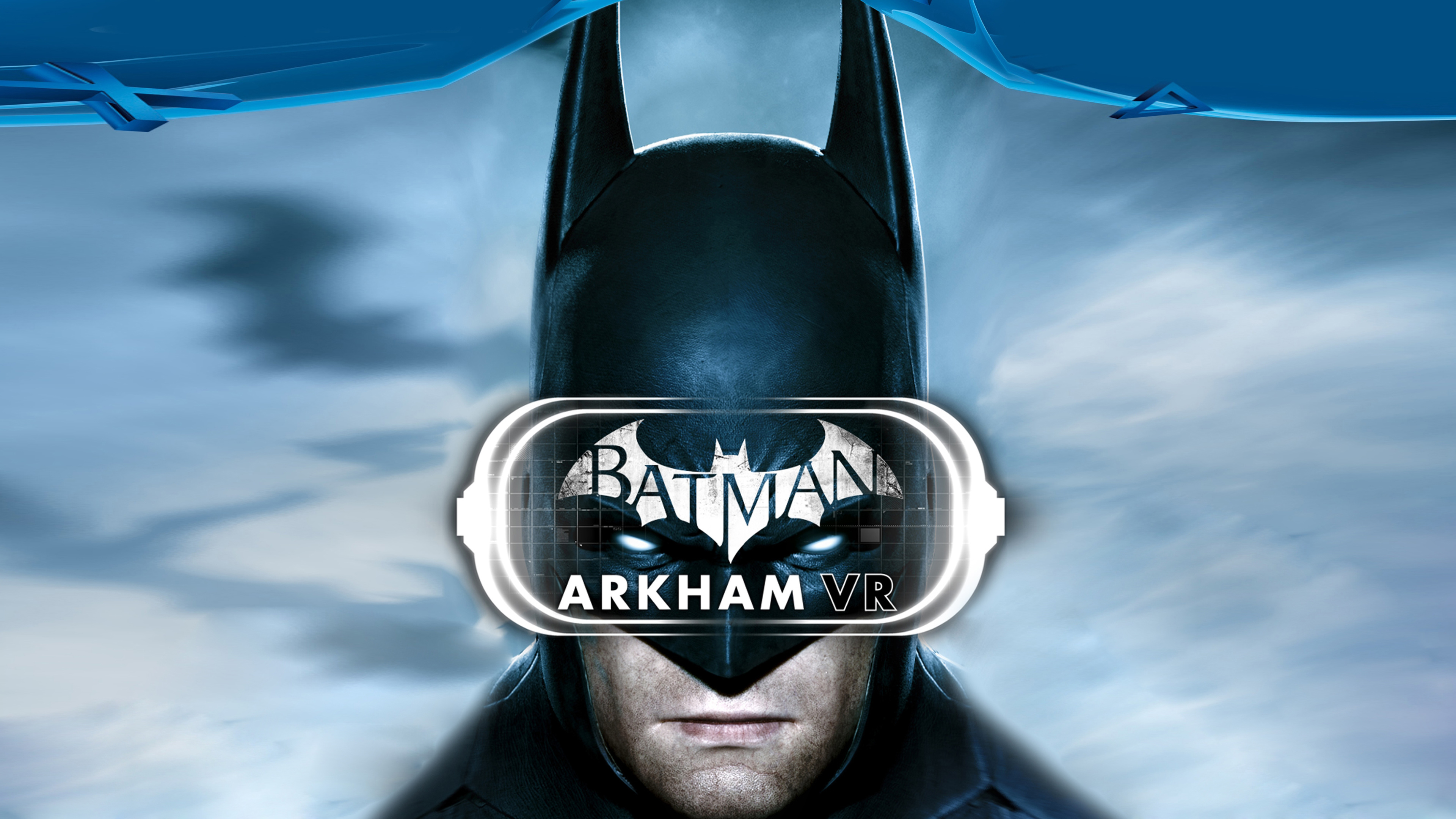 Бэтмен Arkham ВР 4к. обои скачать