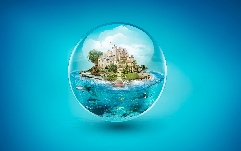 Образ жизни пузырь обои скачать