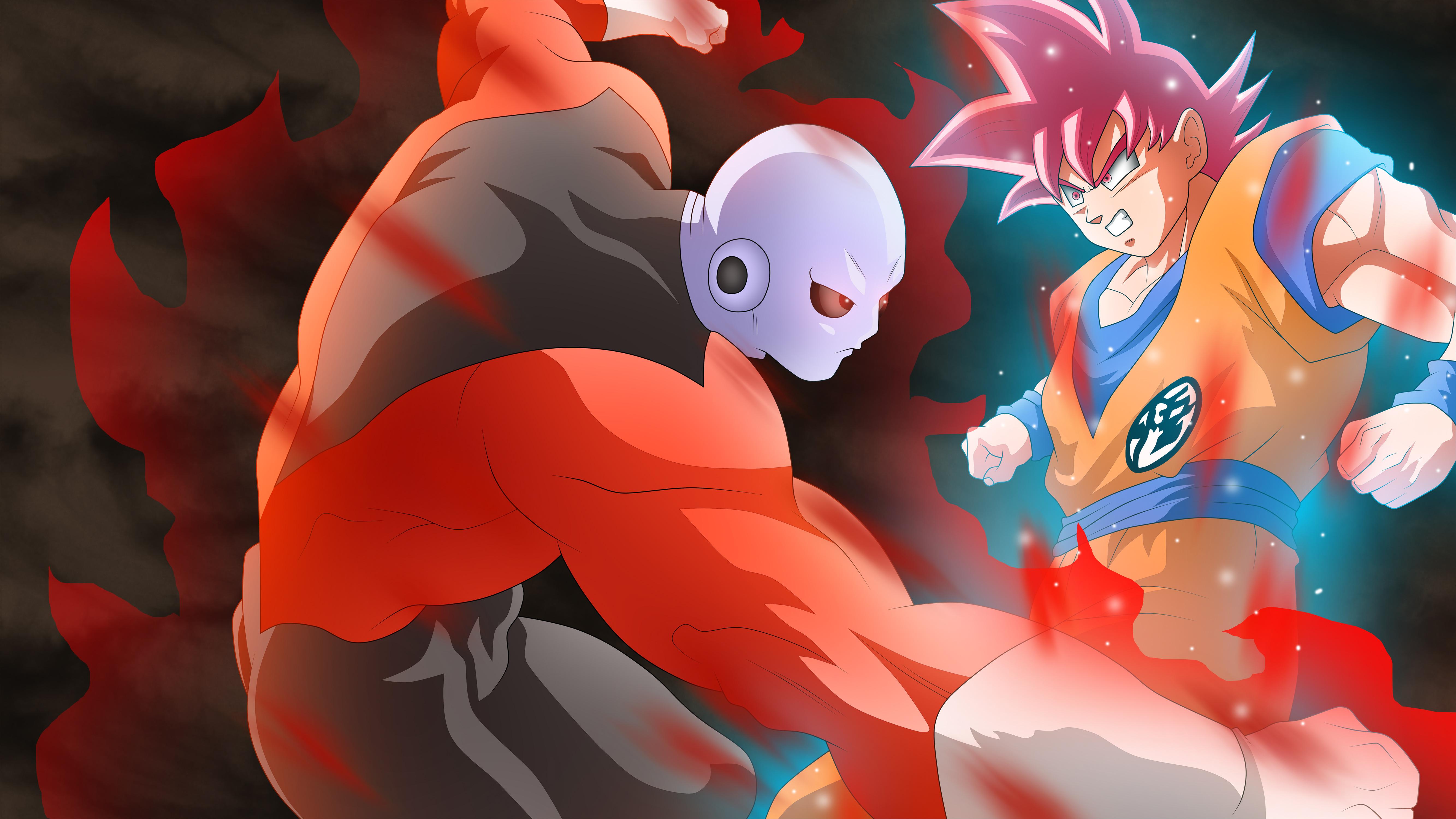 Джирин против гоку дракон мяч супер. обои скачать