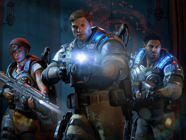 Gears войны 4 ИД «Феникс» каит Диаз делмонт ходок.