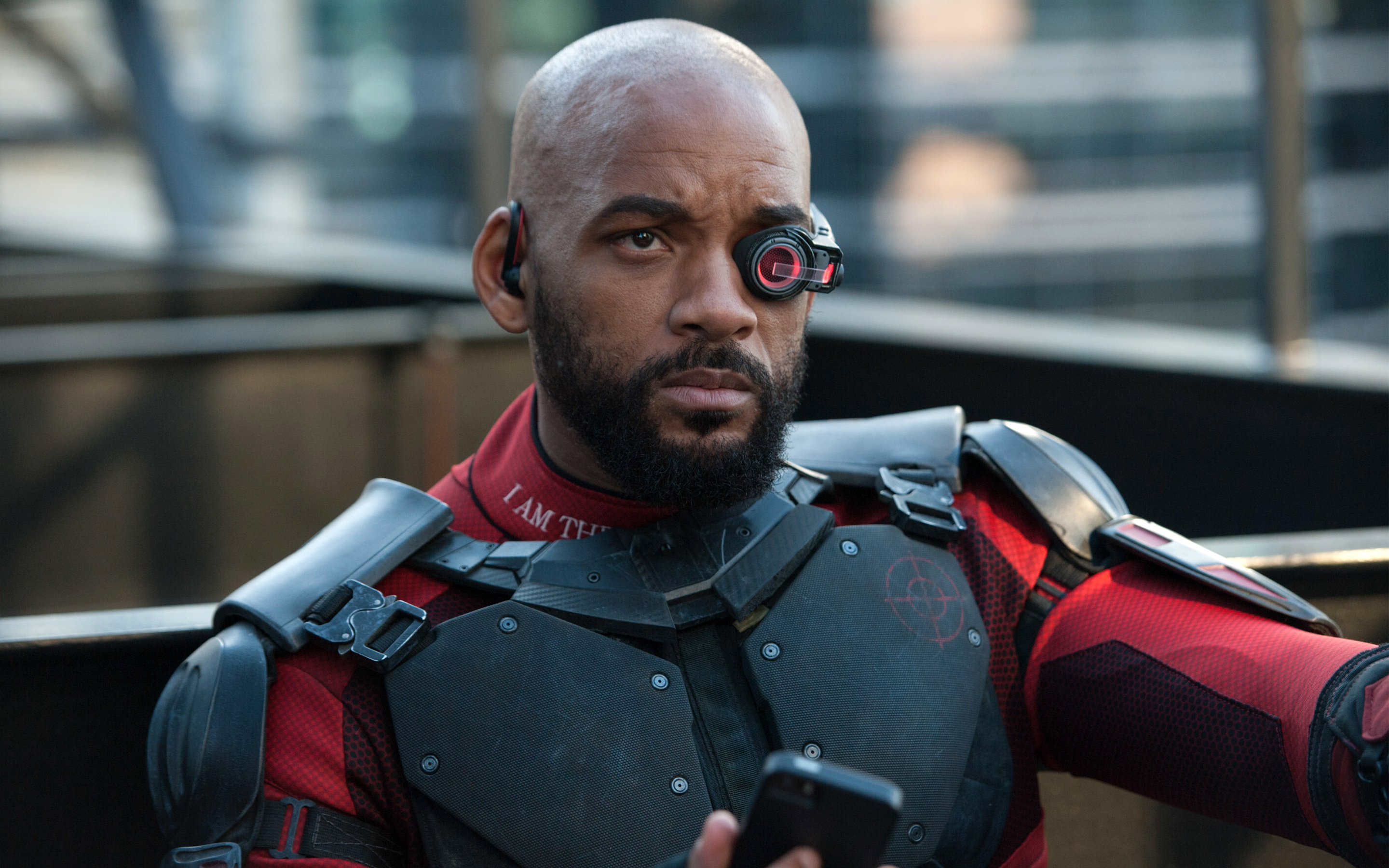 Deadshot Will Smith Suicide Squad обои скачать