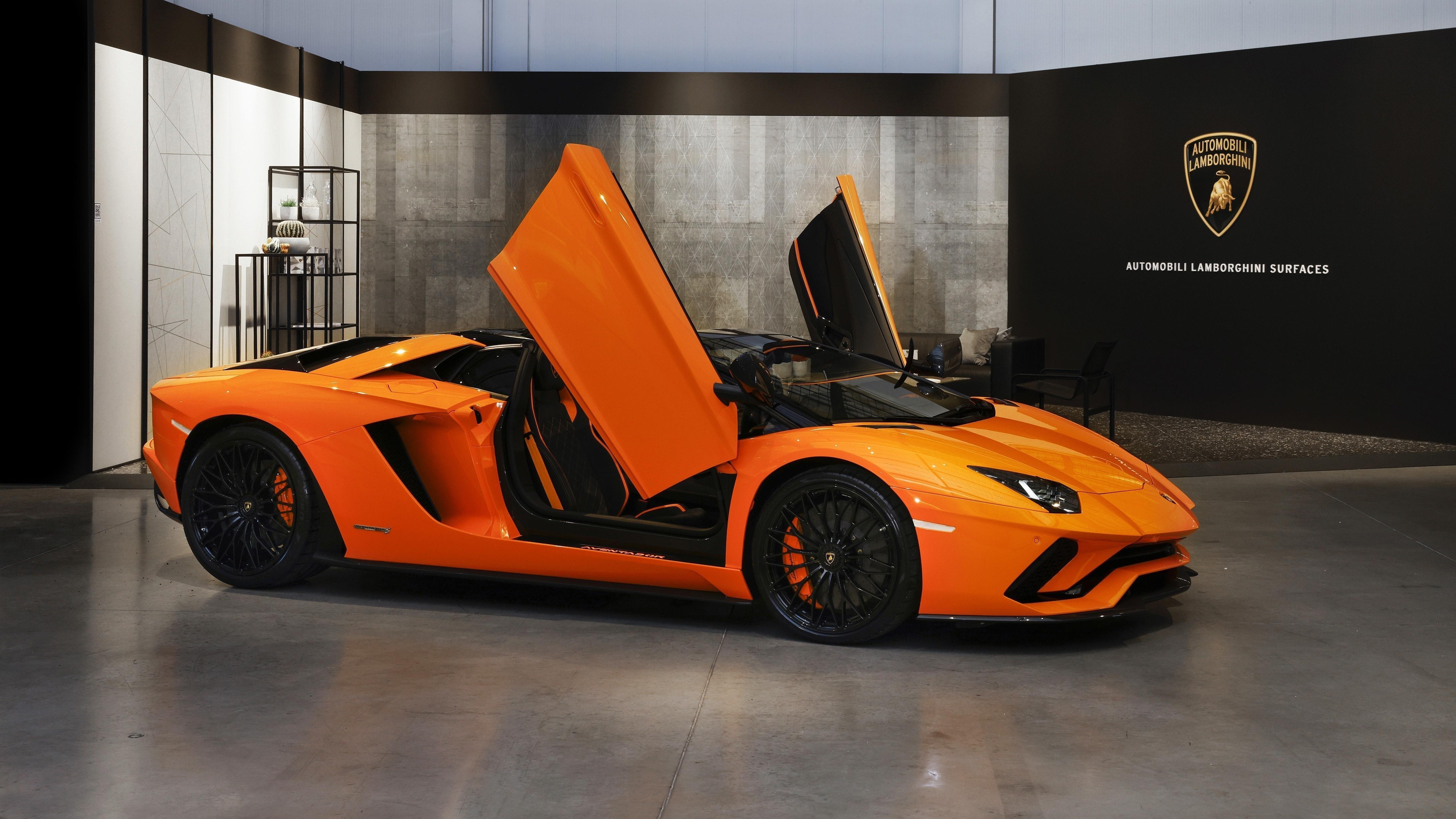 Lamborghini aventador 4 автомобиля обои скачать