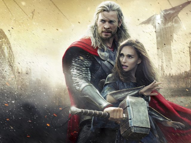 Thor The Dark World,  Chris Hemsworth,  Natalie Portman,  Тор Царство Тьмы