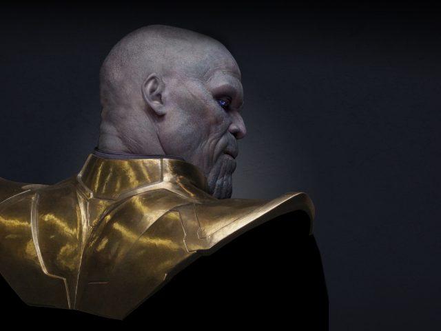 Джош Бролин в роли таноса в мстителях война бесконечности