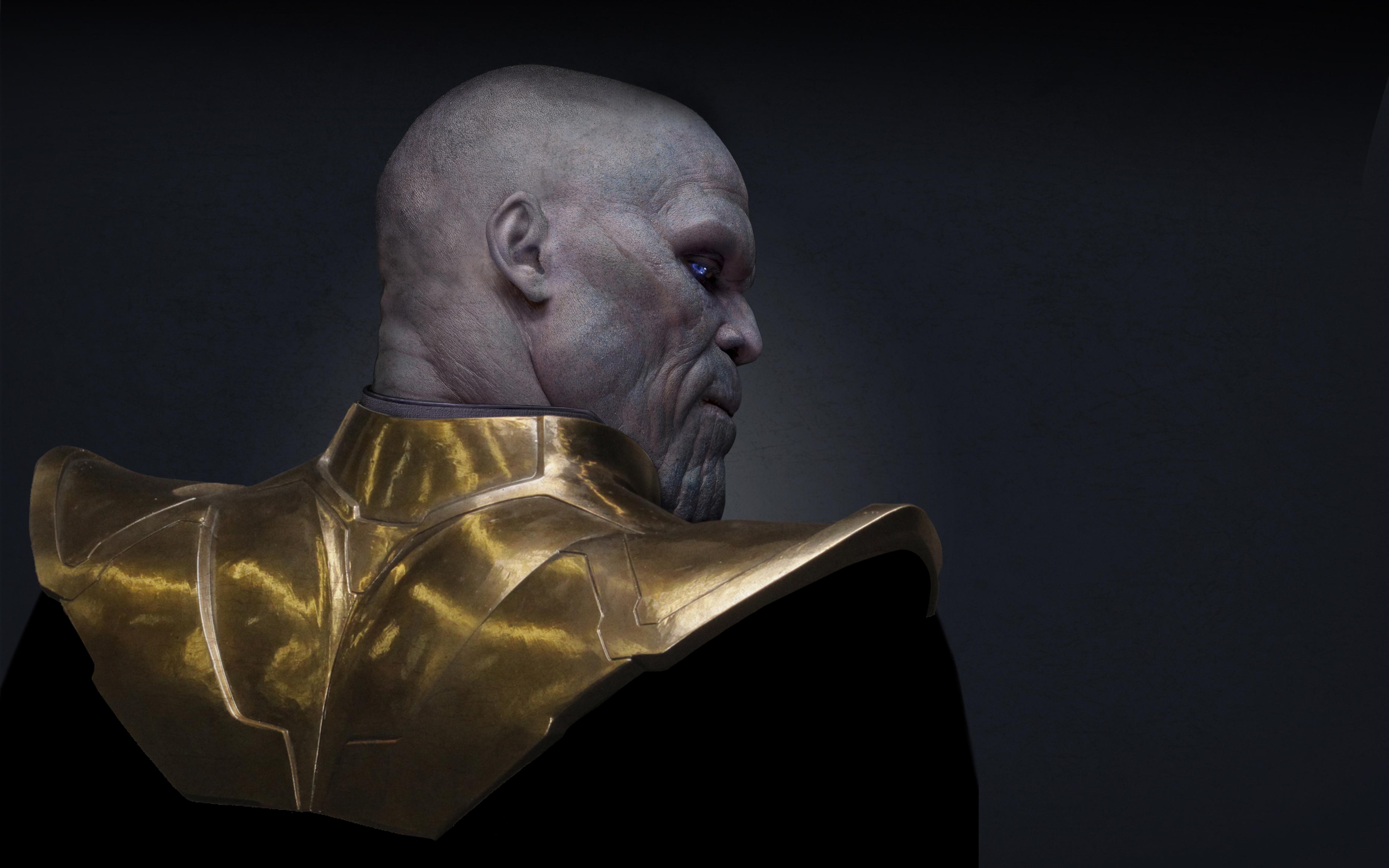 Джош Бролин в роли таноса в мстителях война бесконечности обои скачать