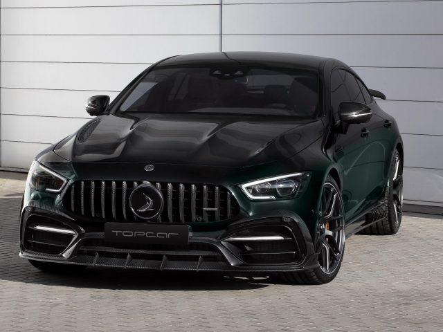 Topcar черный mercedes-amg gt 63 s 4matic+ 4-дверный купе inferno 2020 2 автомобиля