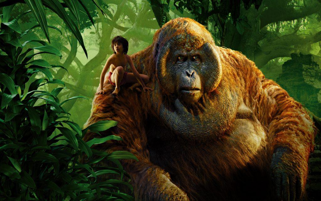 Маугли король Луи книга джунглей. обои скачать