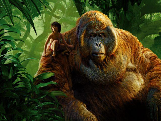 Маугли король Луи книга джунглей.