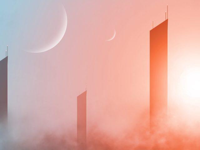 Фантастика небоскребы