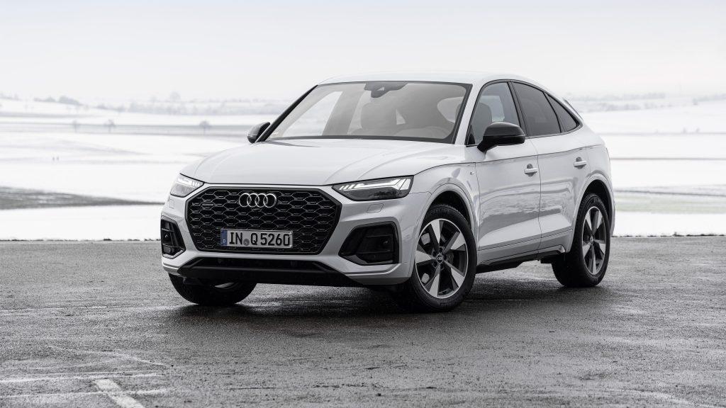 Audi q5 sportback 40 tdi quattro s line 2021 автомобили обои скачать