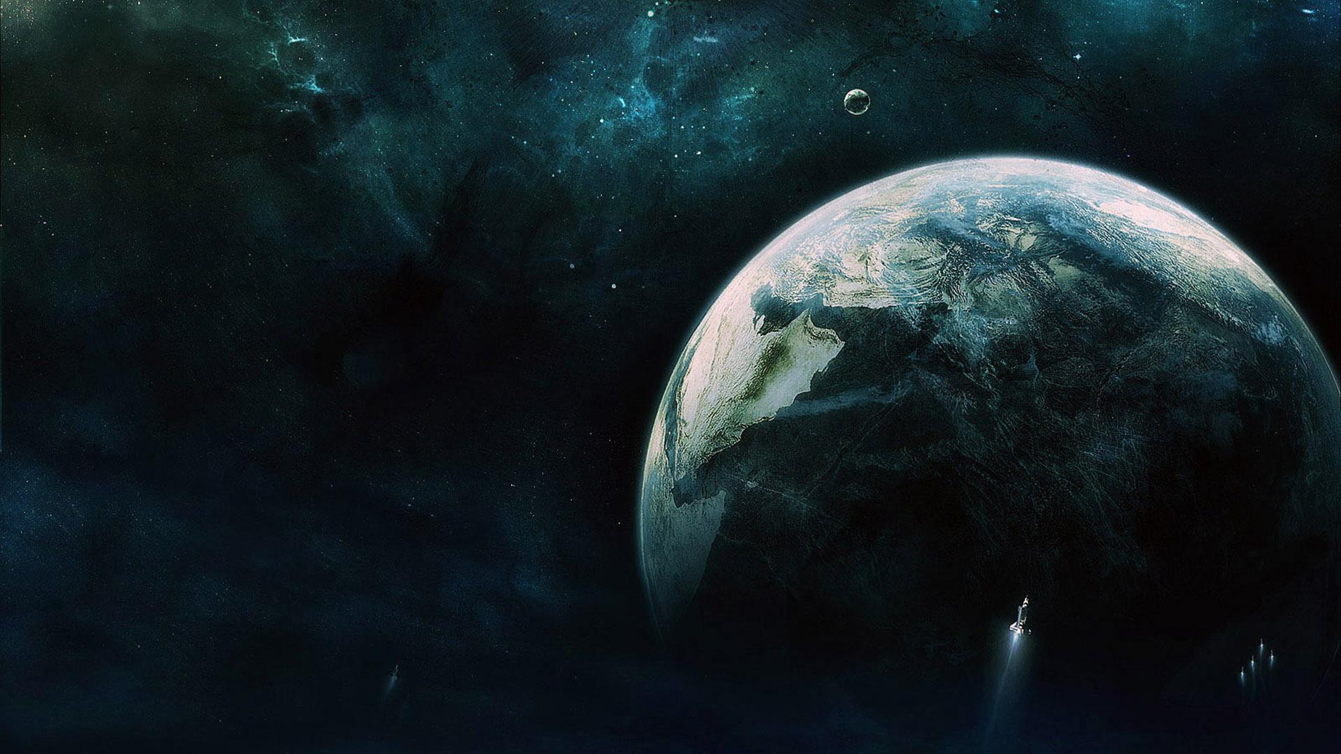 Космос, планеты обои скачать