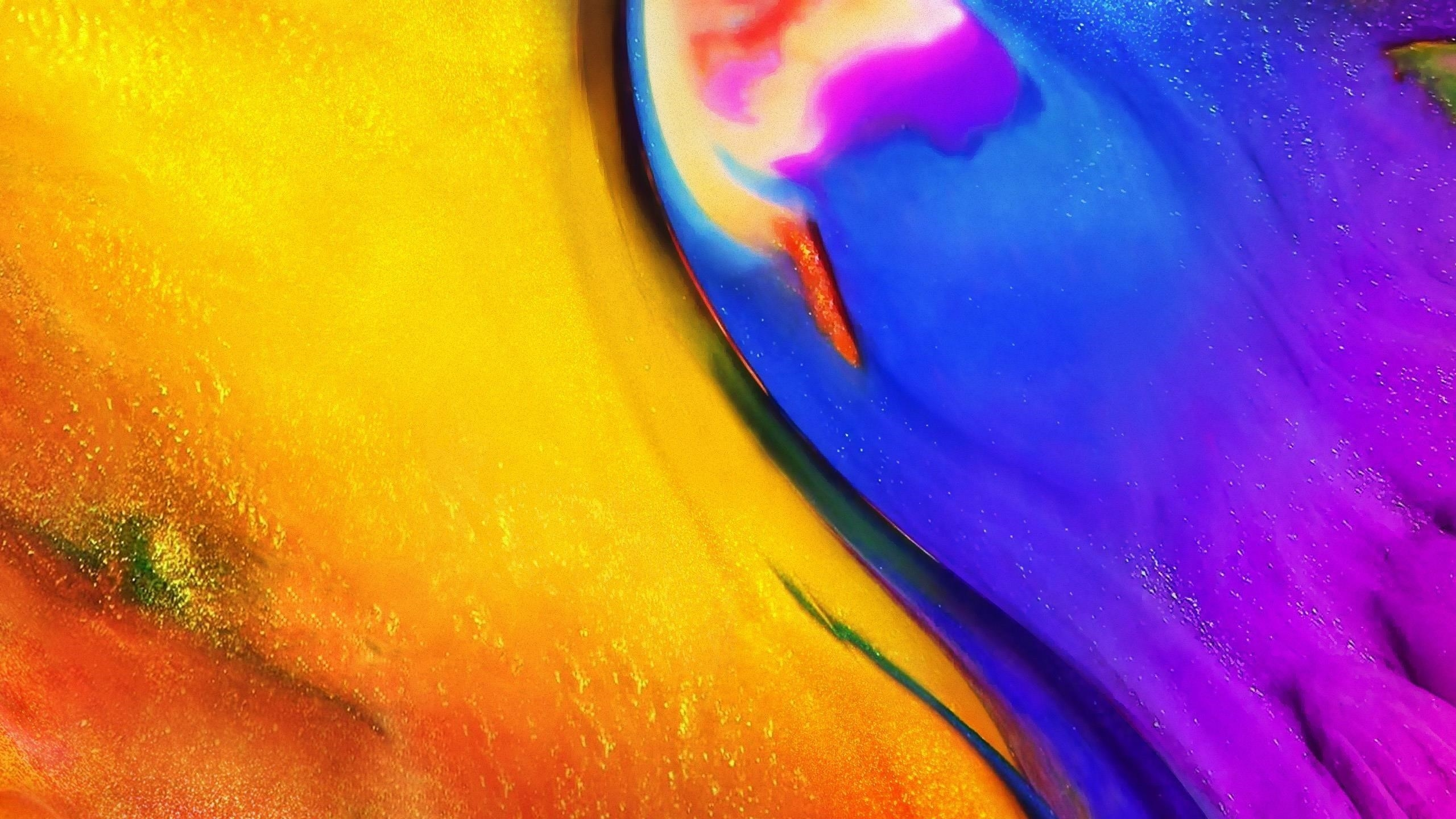 Colorful abstract lg v35 thinq v35 обои скачать