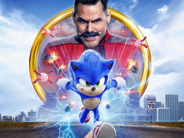 Соник в кино / Sonic the Hedgehog / 2020 / ДБ / WEB-DLRip