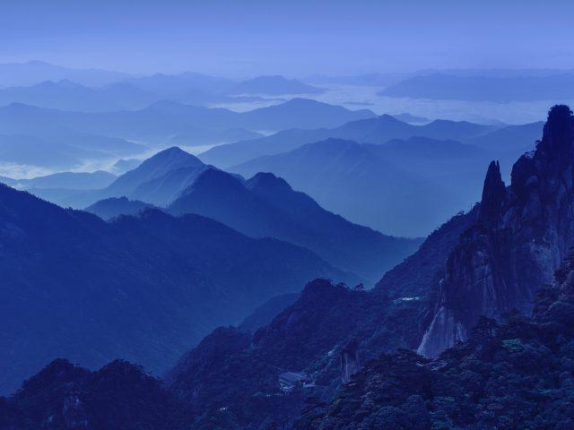 Холодные ночные горы