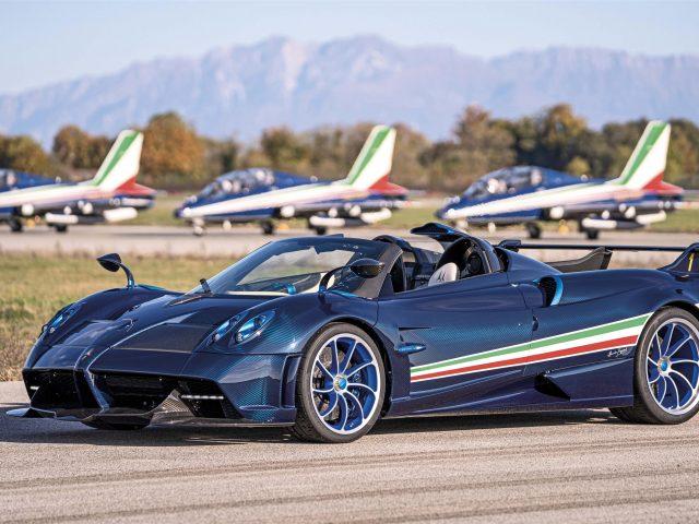 2021 pagani huayra tricolore 3 автомобиля