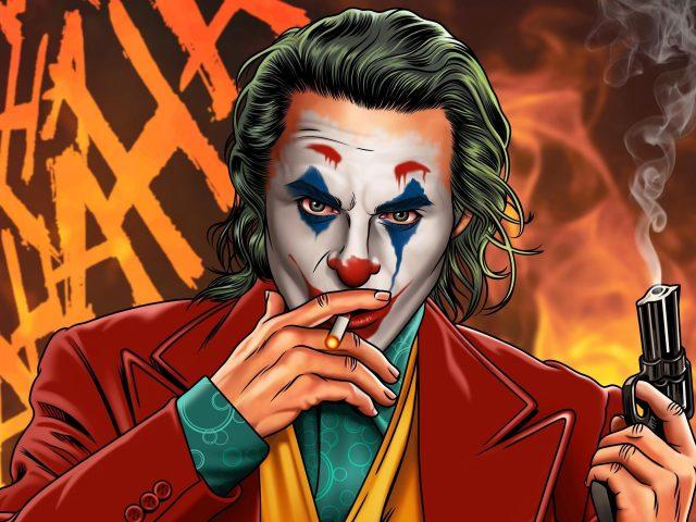 Джокер курильщик джентльмены супергерои