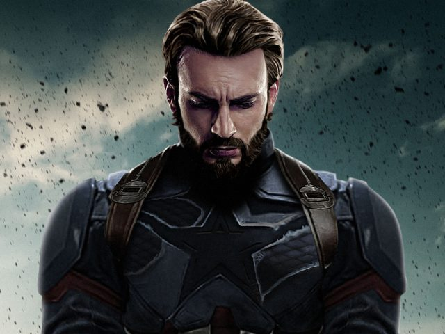 Капитан Америка Мстители бесконечная война