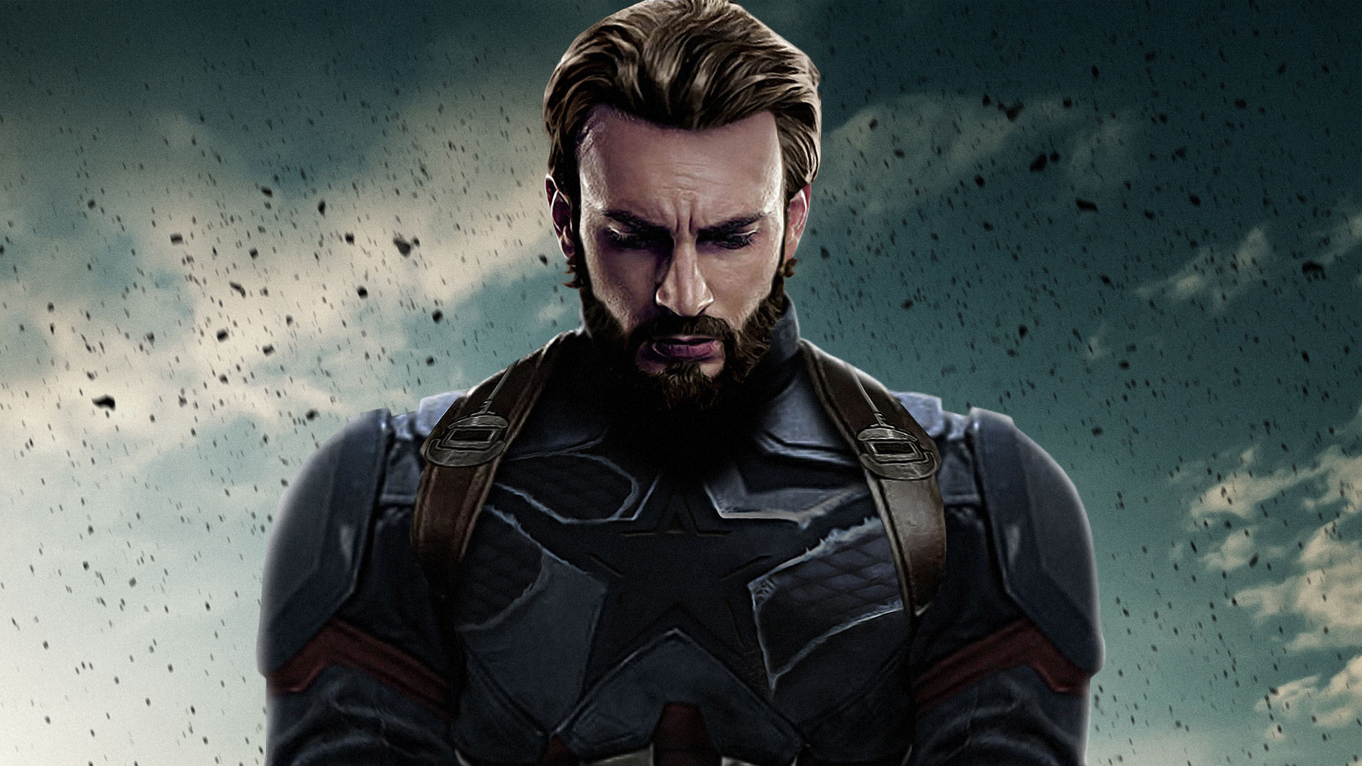 Капитан Америка Мстители бесконечная война обои скачать