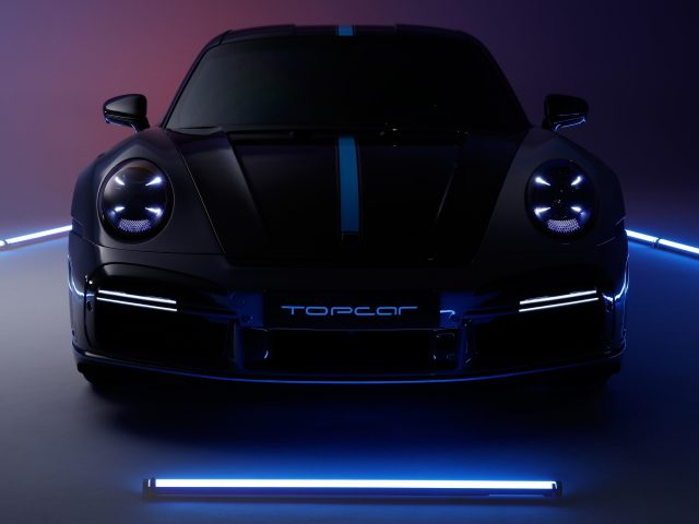 Топкар porsche 911 turbo s stinger gtr 2021 2 автомобиля
