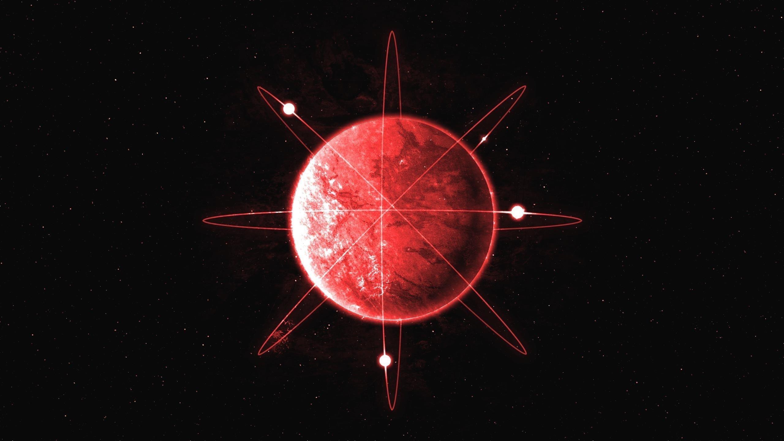 Красная планета обои скачать