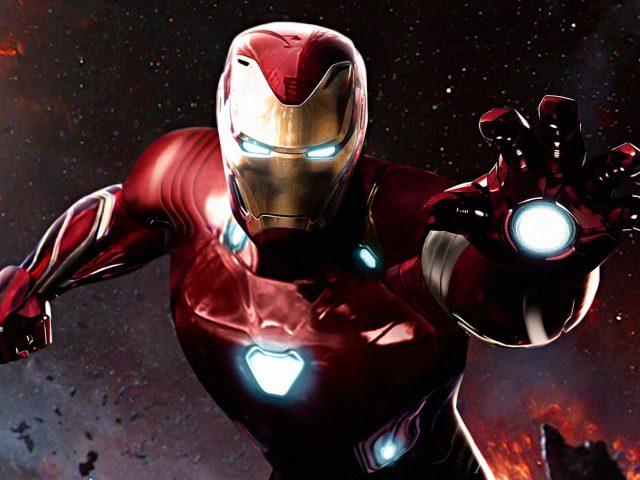 Железный человек Мстители война бесконечности