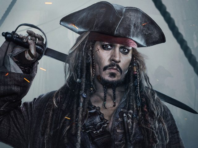 Jack sparrow pirates of the caribbean dead men tell no tales.