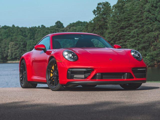 2022 porsche 911 carrera gts 2 автомобиля