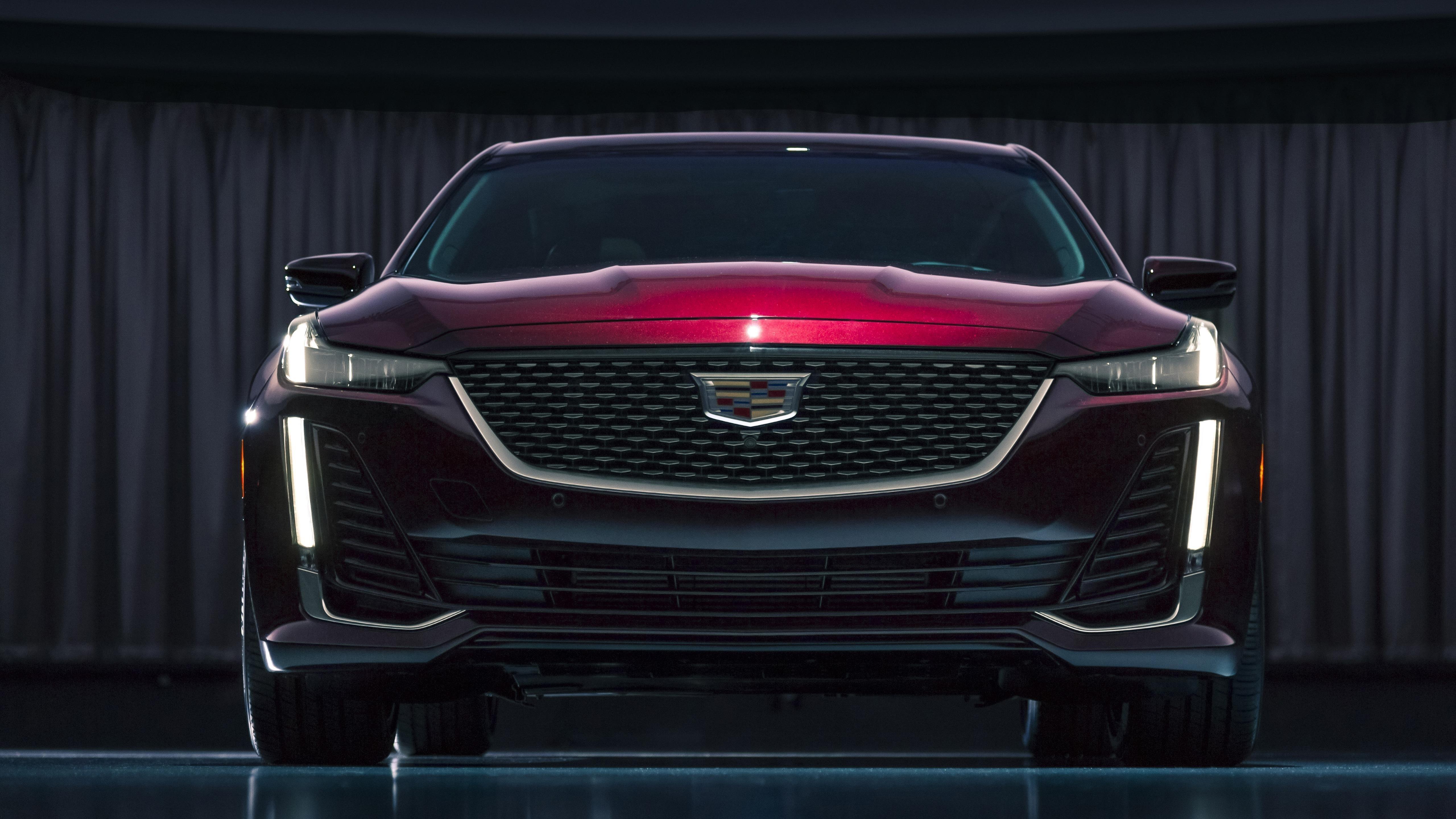 2020 Кадиллак CT5, расположенный роскошный автомобиль премиум-класса обои скачать