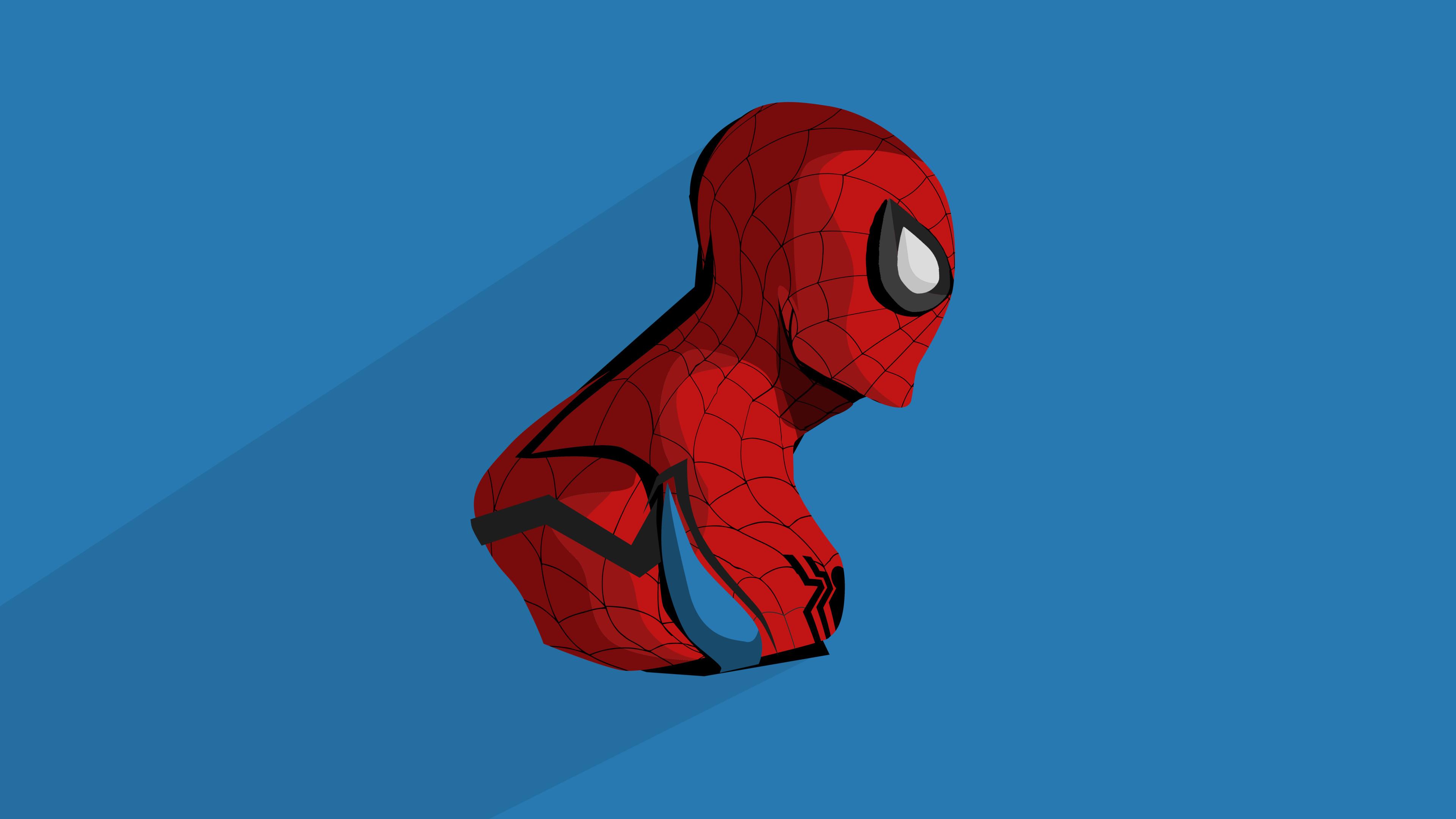 Человек-паук минимальная работа обои скачать