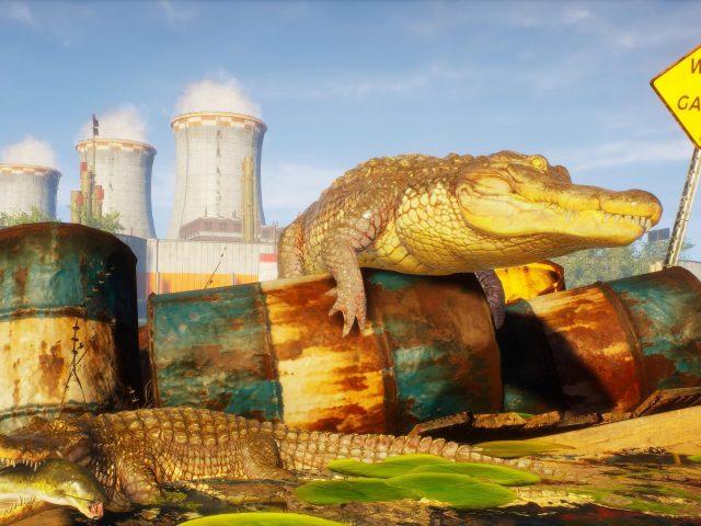 Людоеда крокодила 4К