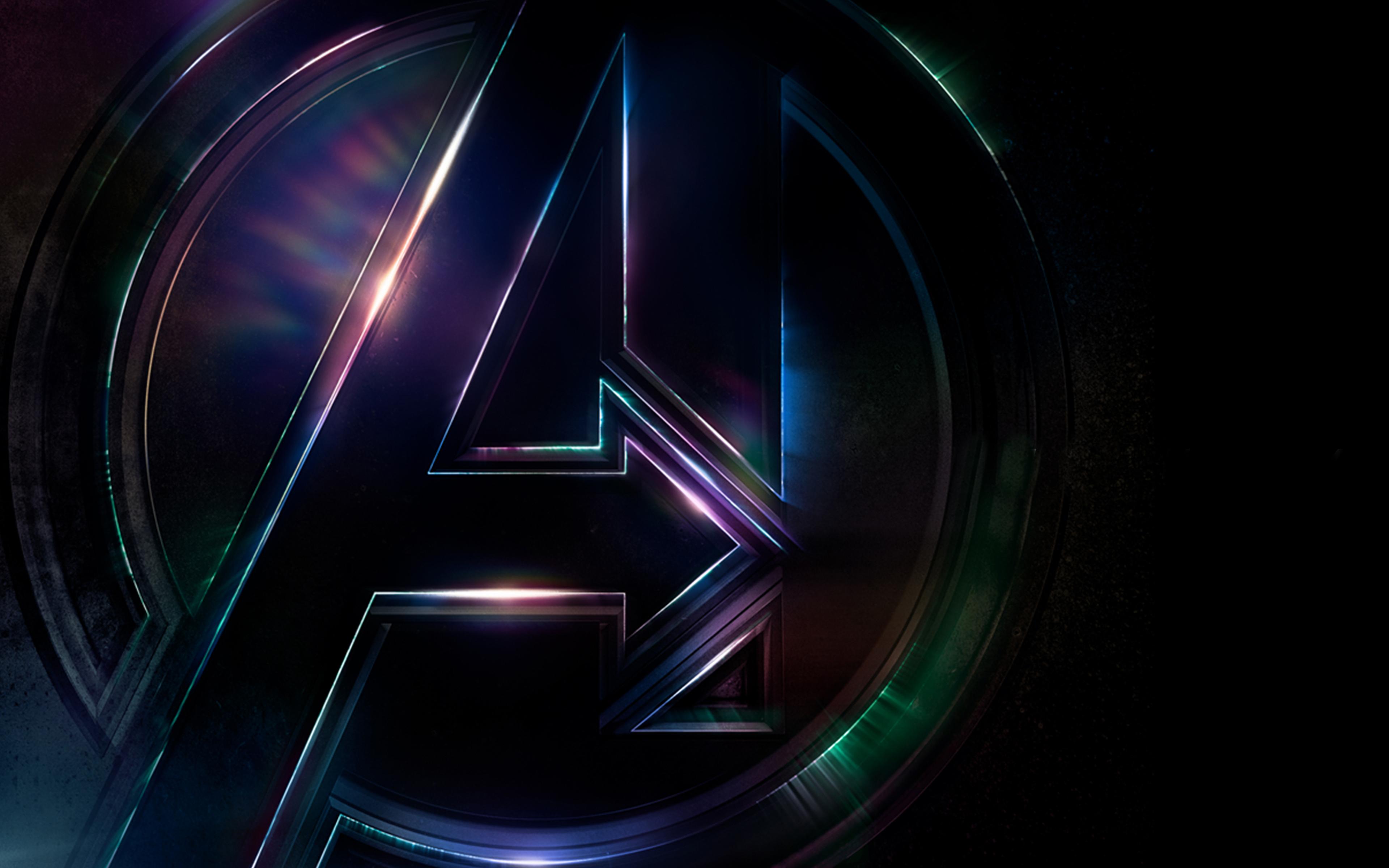 Логотип avengers infinity war обои скачать