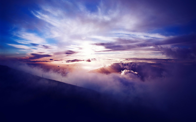 Солнечный национальный парк халеакала. обои скачать