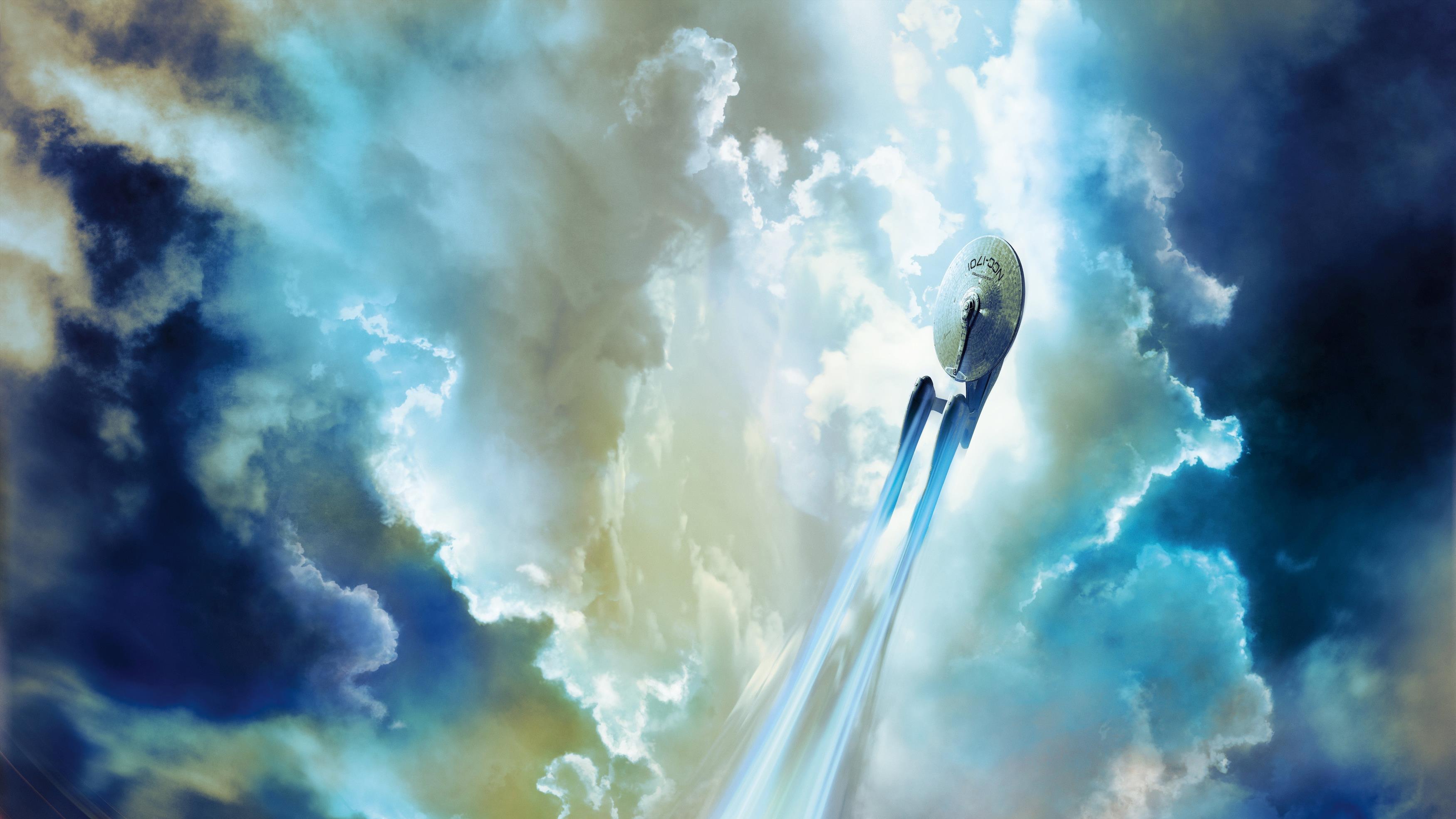"""Звездолет """"Энтерпрайз"""" космический корабль НСС 1701 обои скачать"""