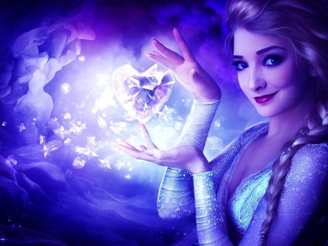 Королева Эльза Ледяное сердце