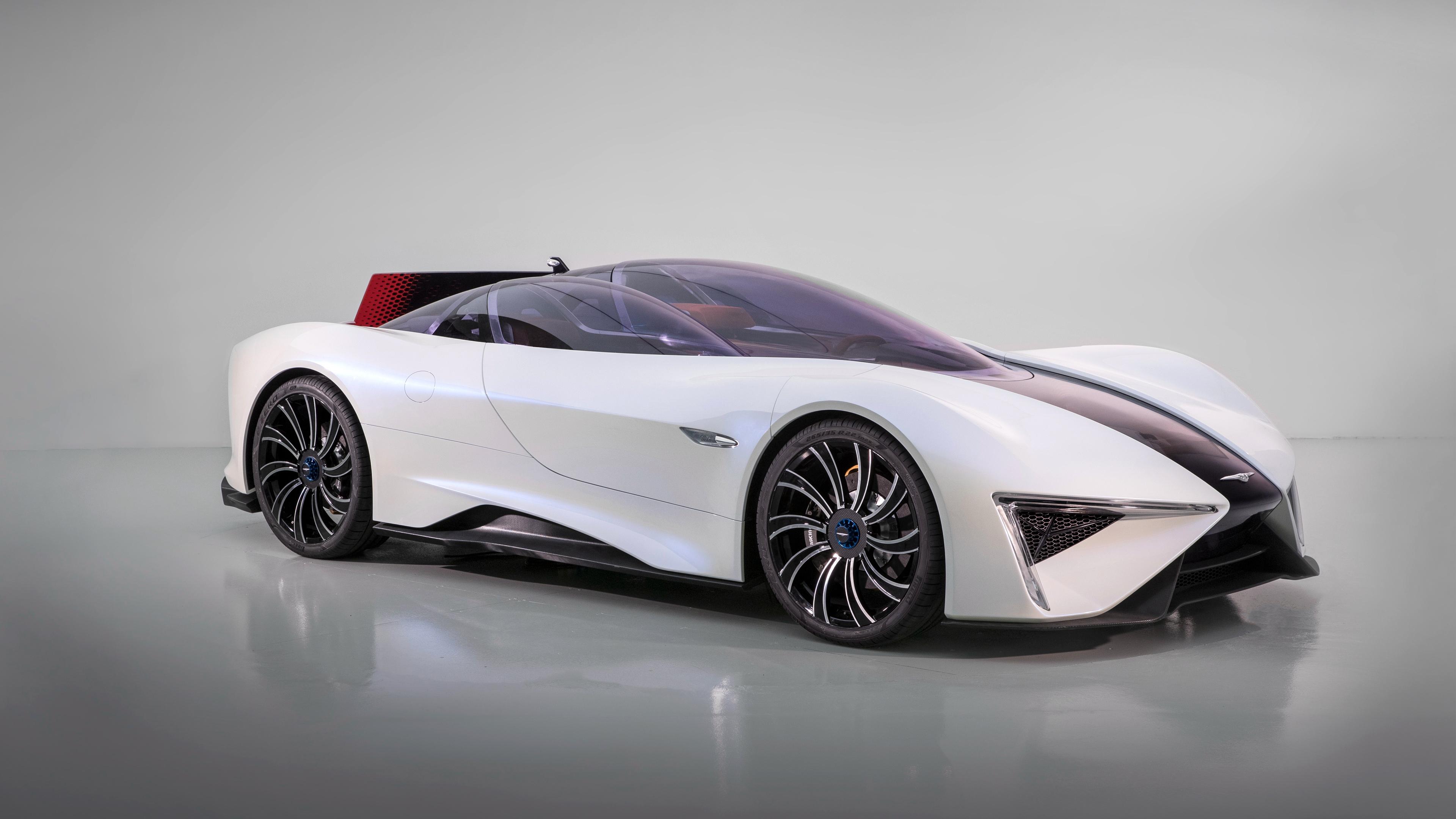 Techrules ren supercar 4k. обои скачать