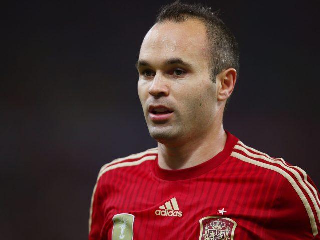 Андрес Иньеста-испанский футболист.