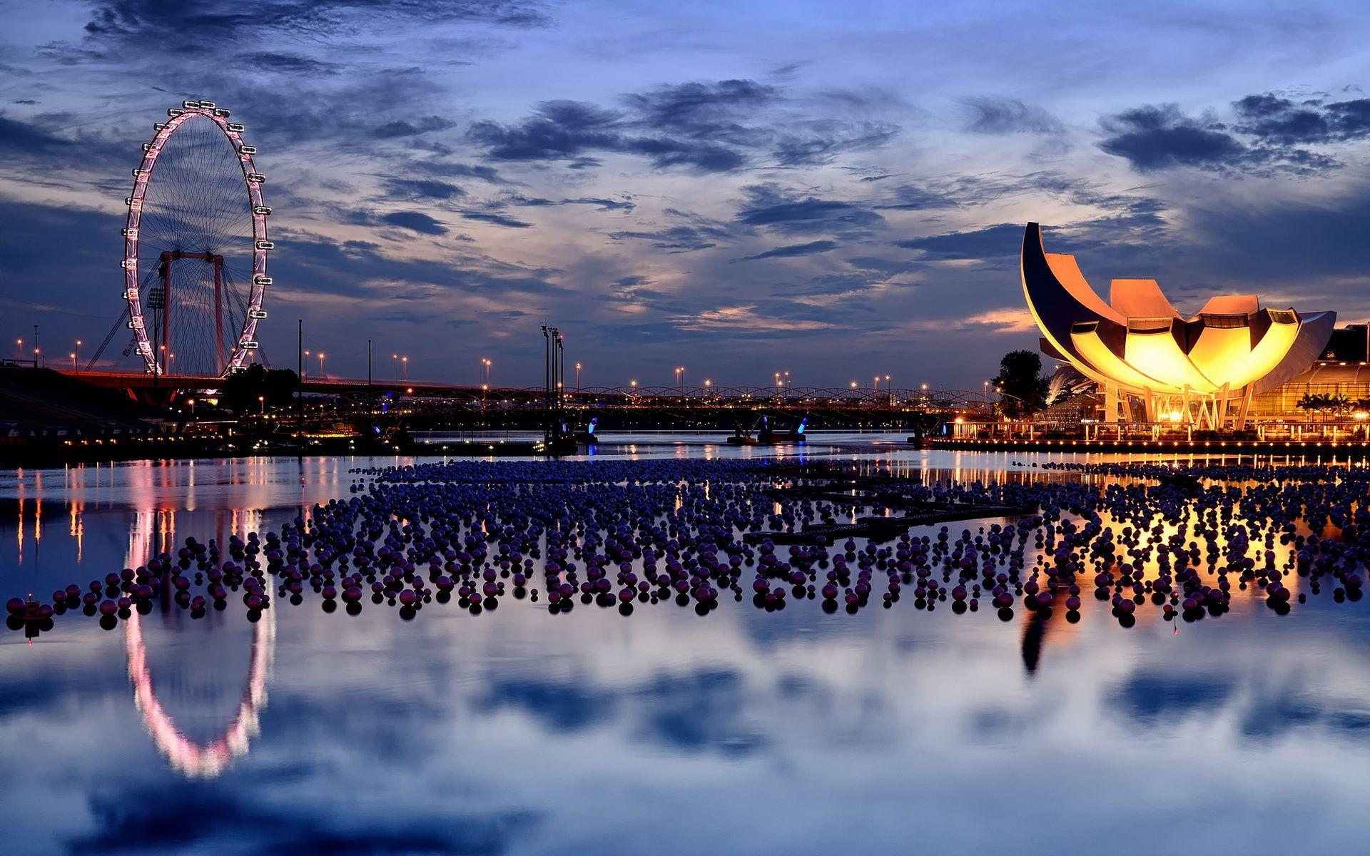 Сингапур, отель, здания, архитектура обои скачать
