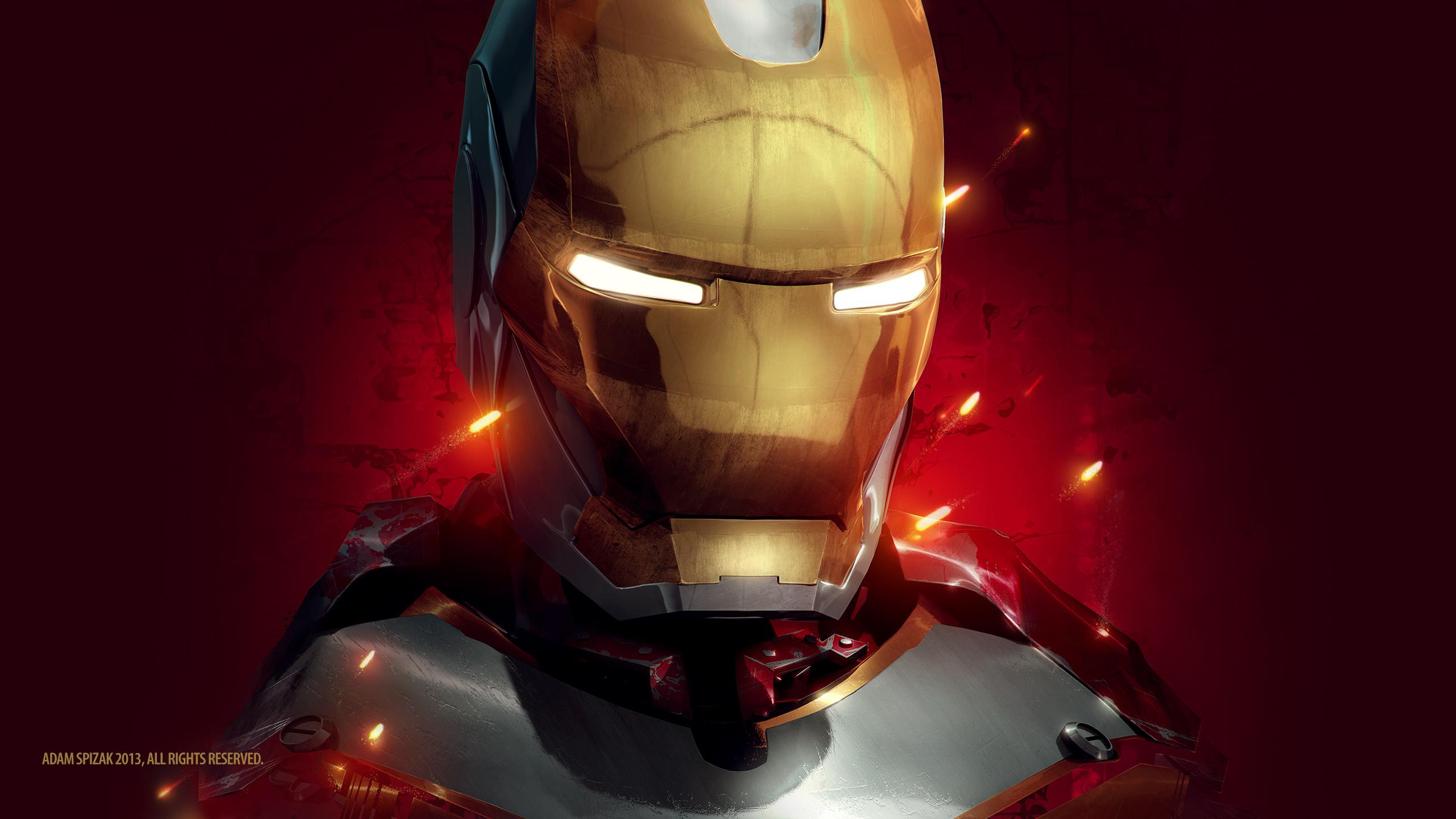 Iron man artwork. обои скачать