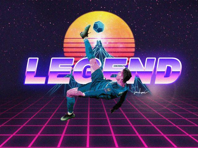 Легенда Криштиану Роналду ретро