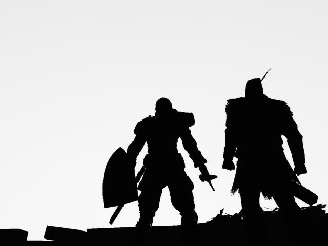 Dark souls two warriors image games