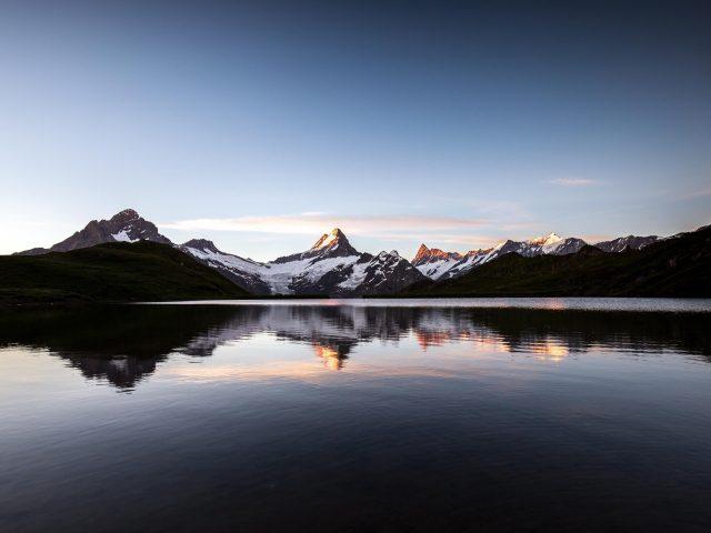 Озеро бахальпзее пейзажи