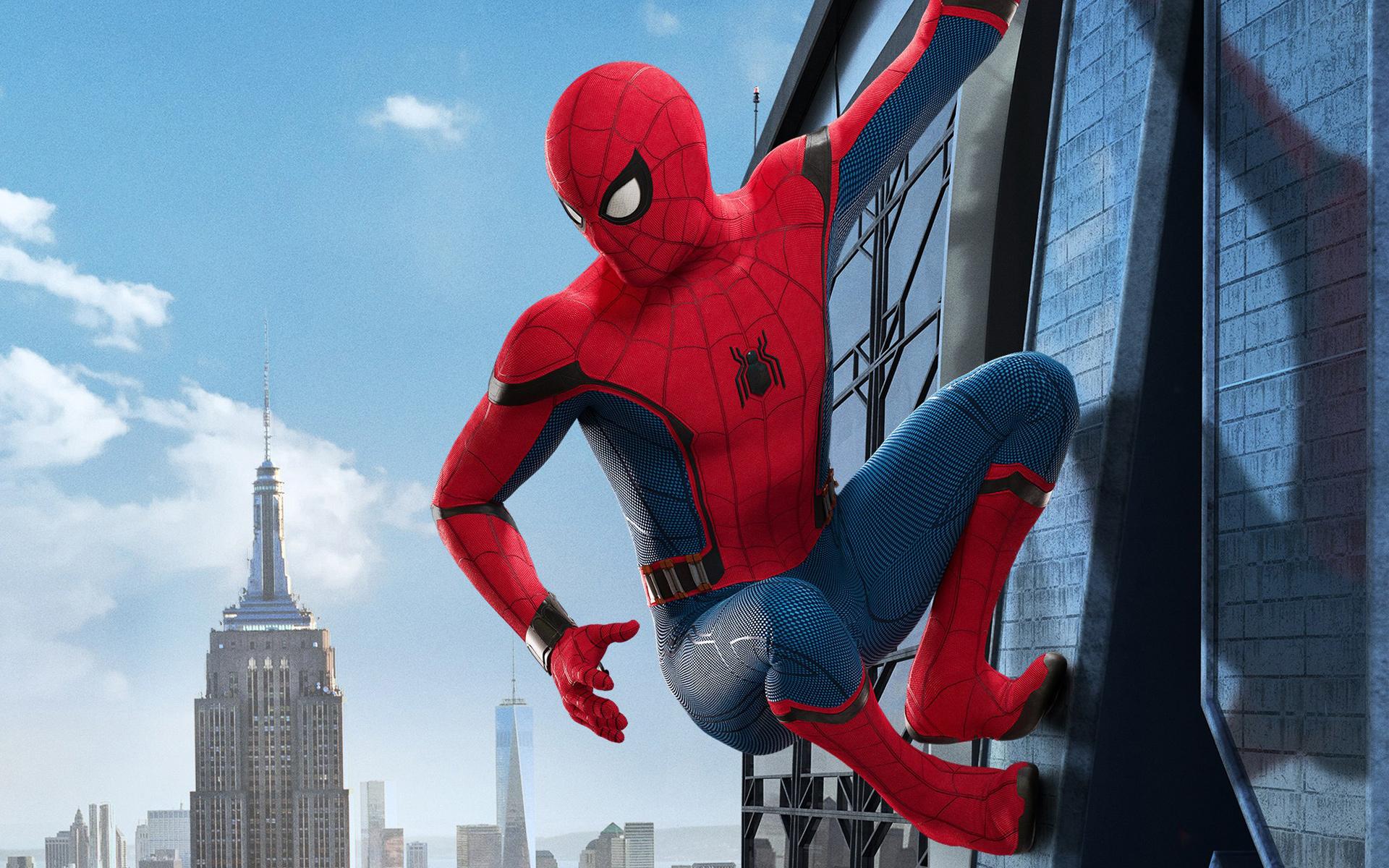 Spider man homecoming. обои скачать