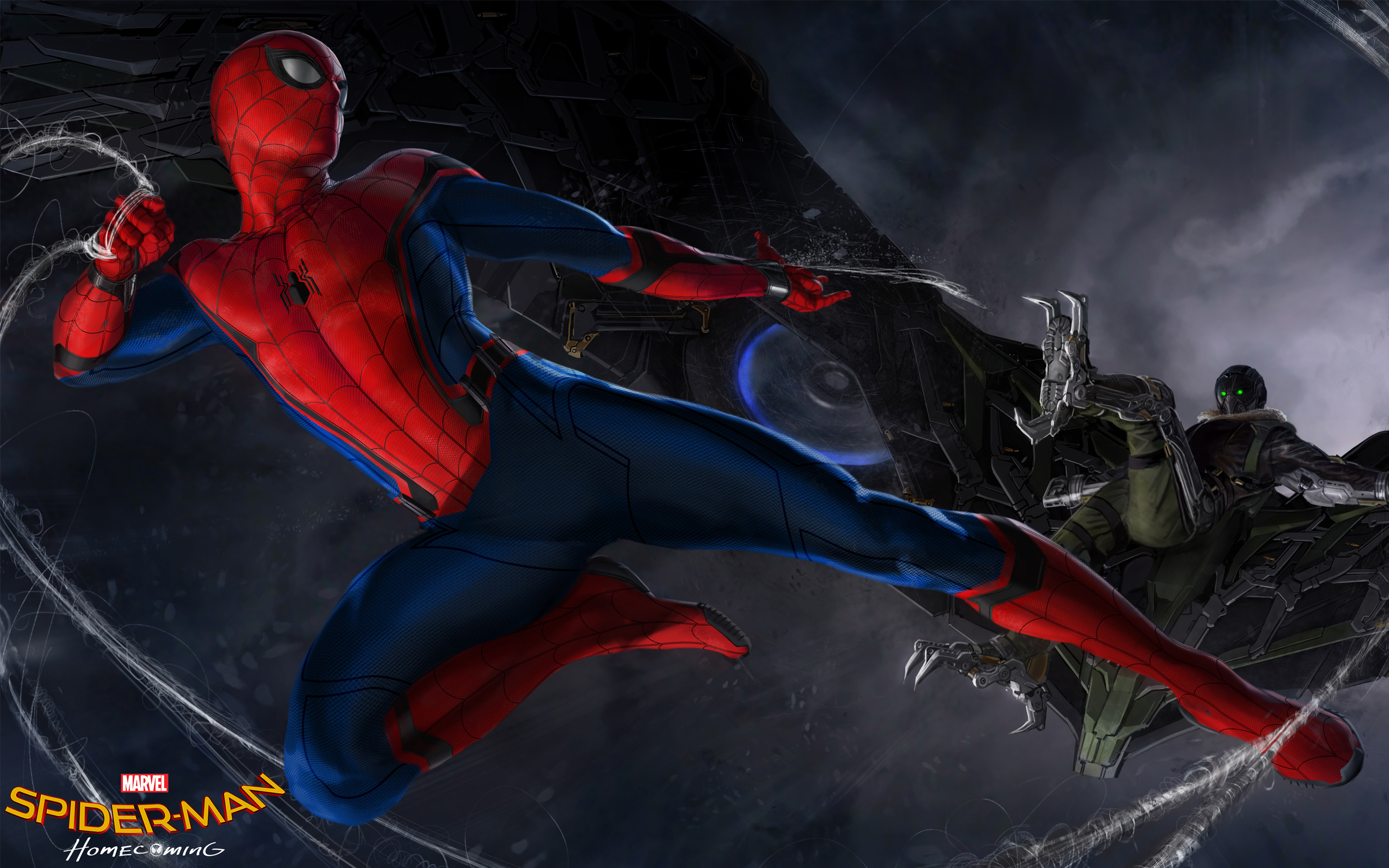 Spider Man Homecoming Concept обои скачать