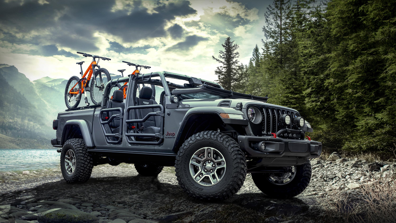 2020 Mopar jeep Гладиатор Рубикон обои скачать