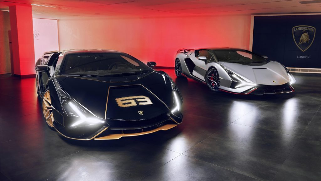 Lamborghini sian fkp 37 2021 9 автомобилей обои скачать