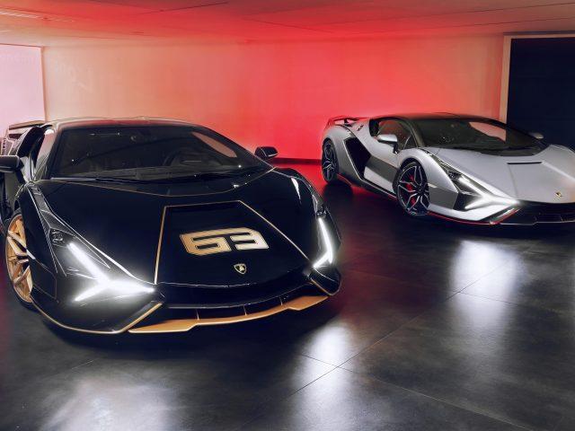 Lamborghini sian fkp 37 2021 9 автомобилей