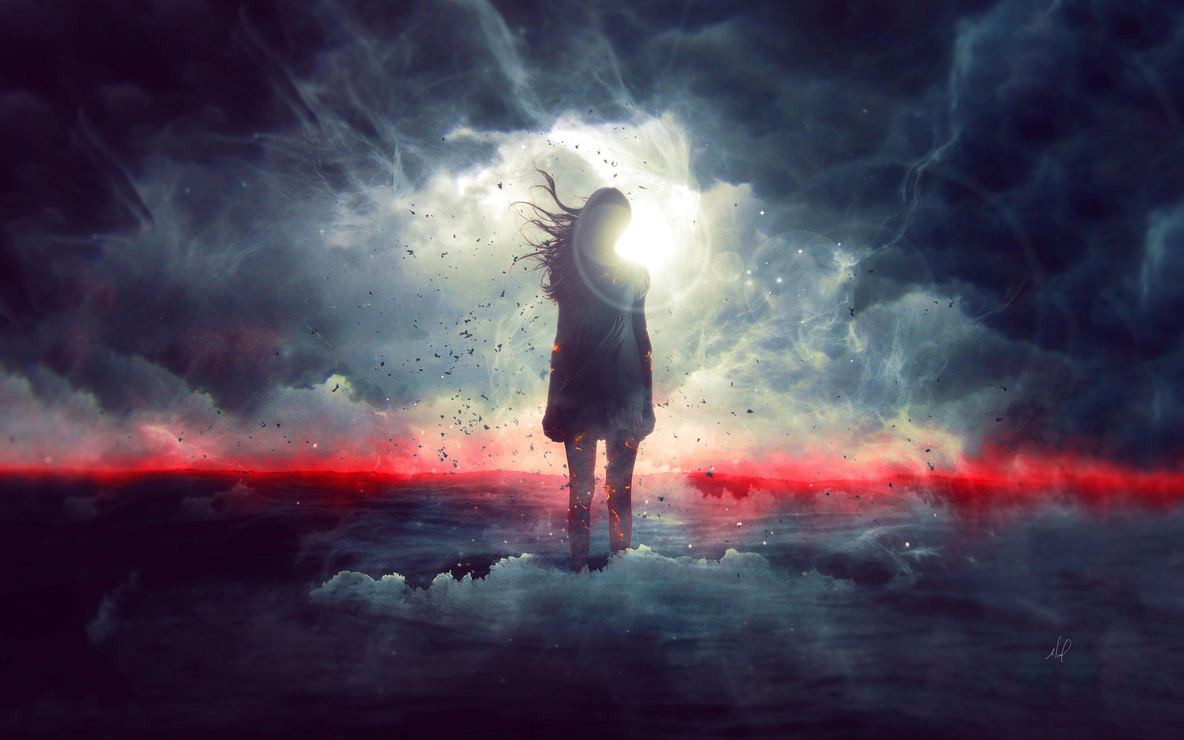 Девушка-мечта обои скачать