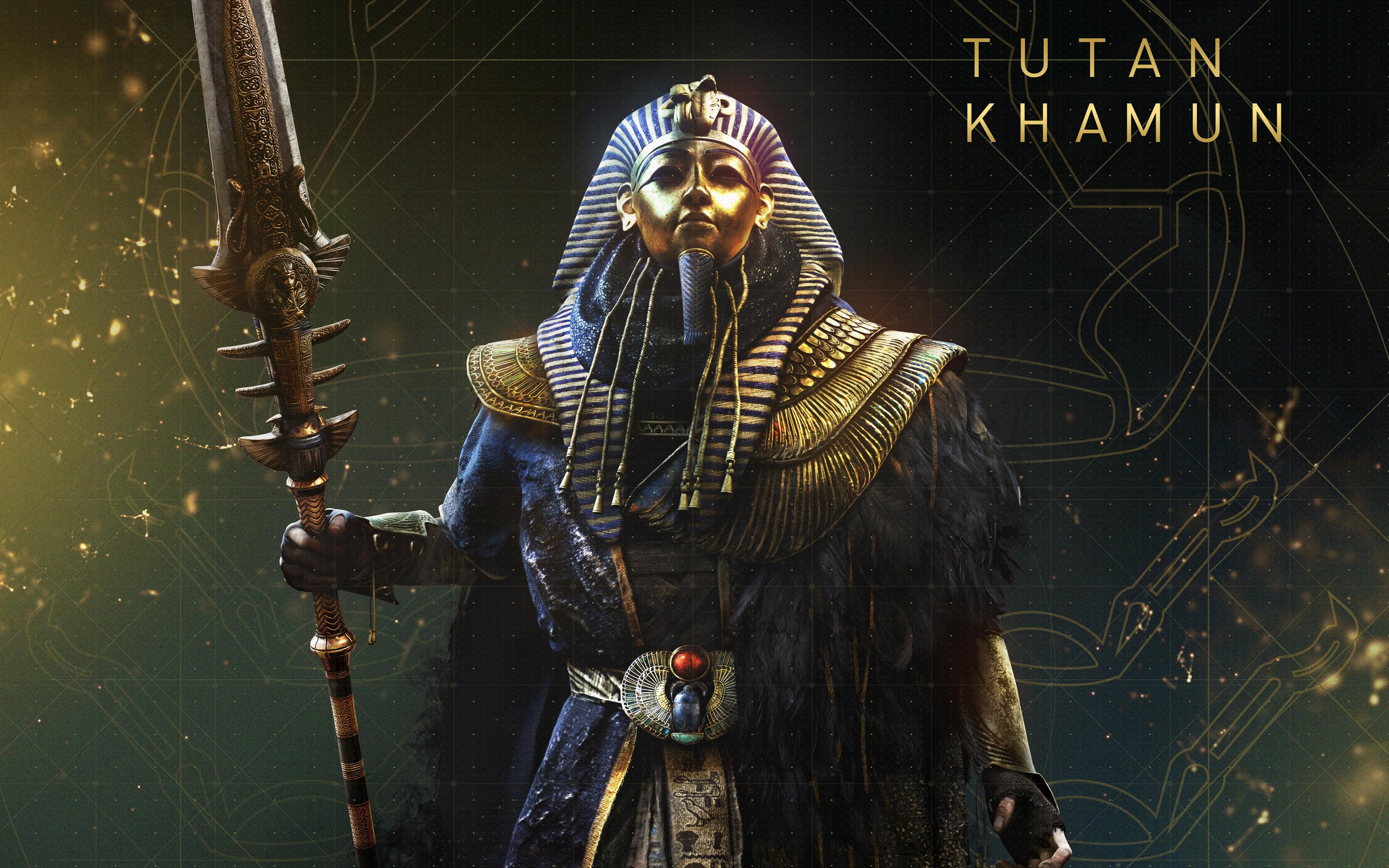 Assassins creed происхождение тутанхамон обои скачать